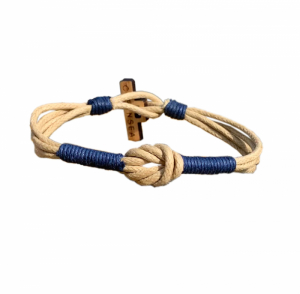 Cleansea Bracelet Beige/Blue in the group All articles / Accessories at Seapro Divers Scandinavia AB  (8786-XSr)